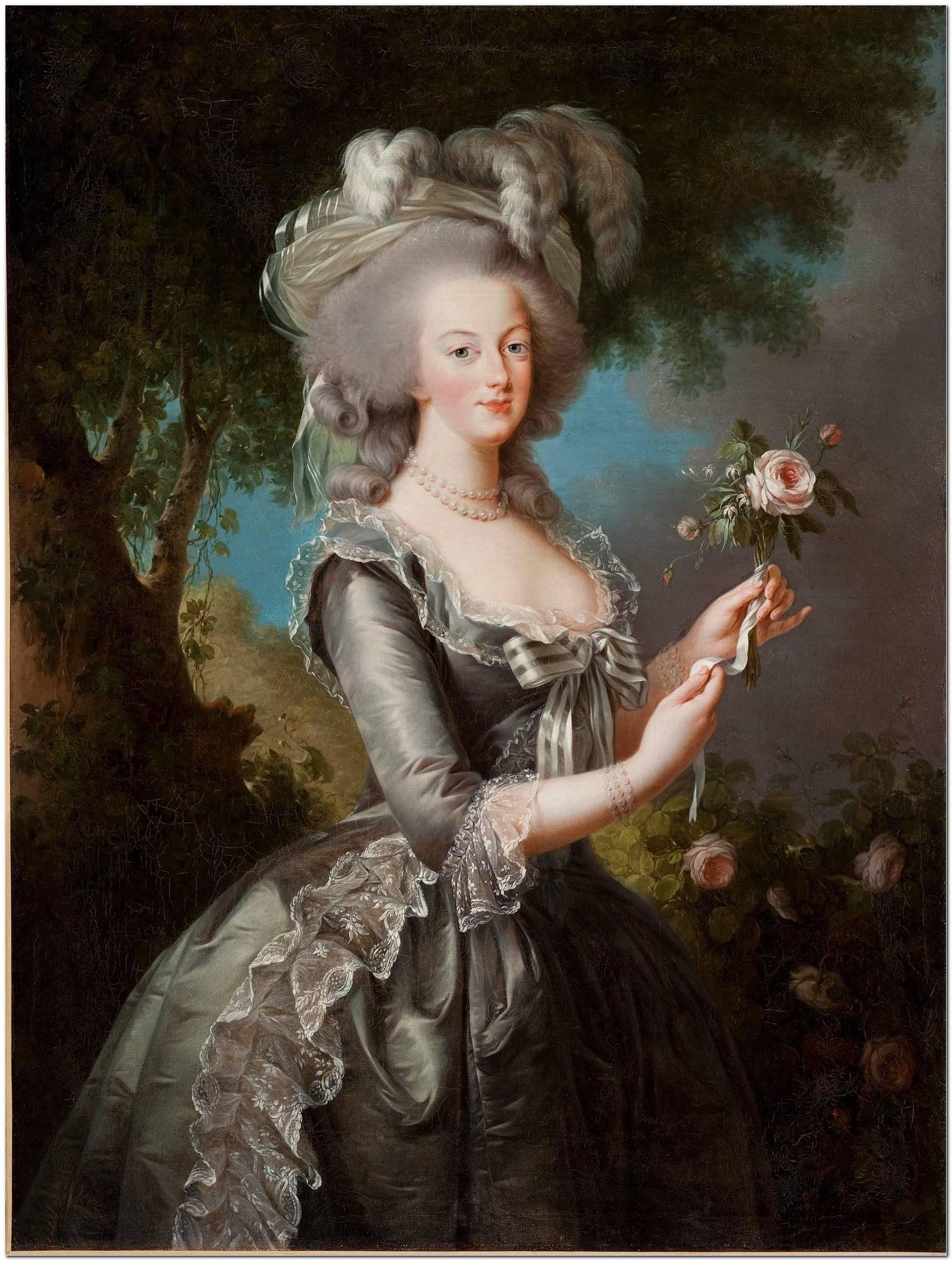 Marie Antoinette Frisur