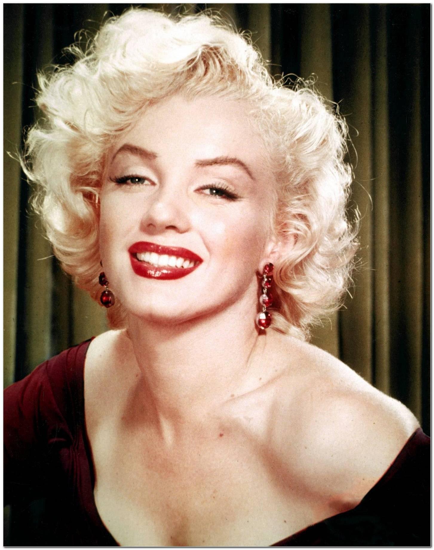 Marilyn Monroe Frisur Schnitt
