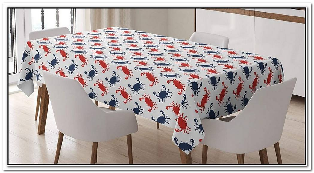 Maritime Mistletoe Tablecloth