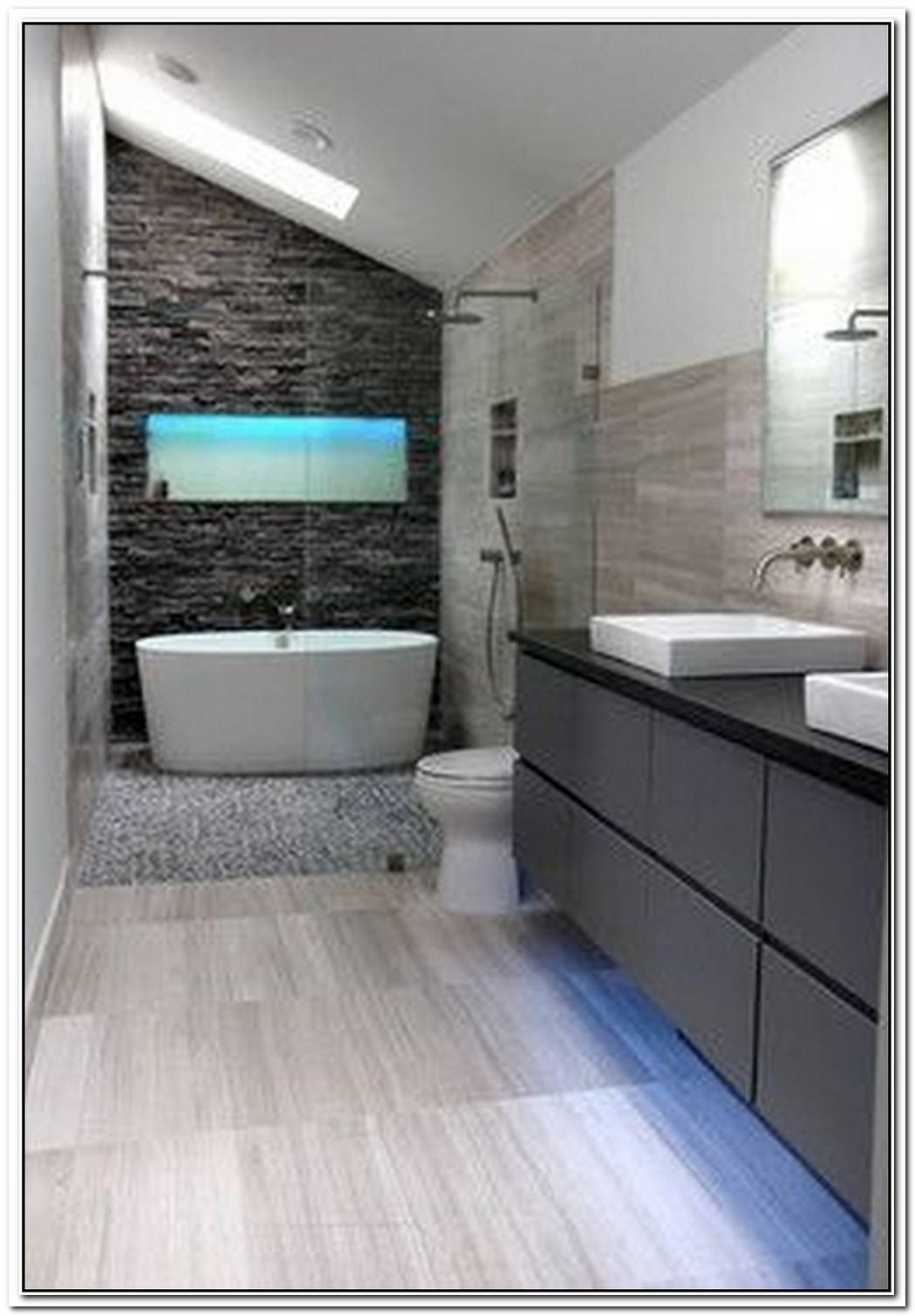 Master Contemporary Bathroom Black
