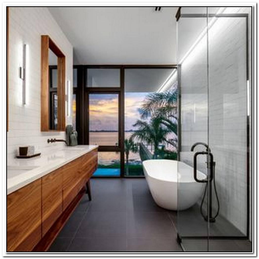 Master Minimalist Bathroom Moden