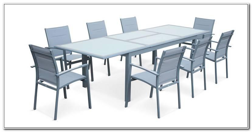 Meilleur Salon De Jardin Table Extensible