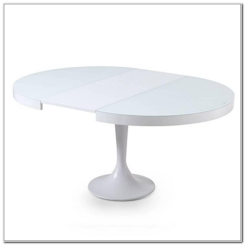 Meilleur Table Blanc Laqué Extensible