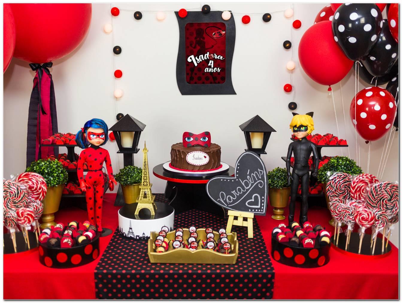 Mesa De Festa Ladybug