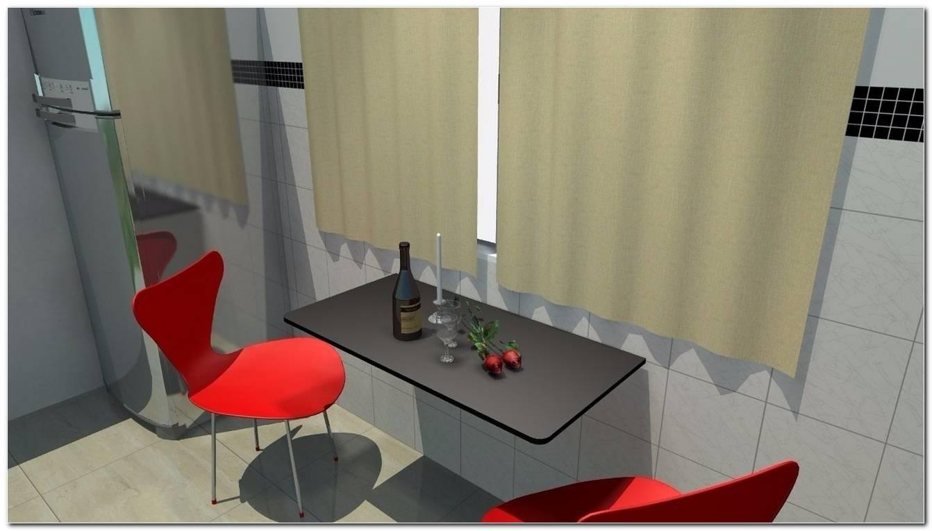 Mesa De Parede Para Cozinha