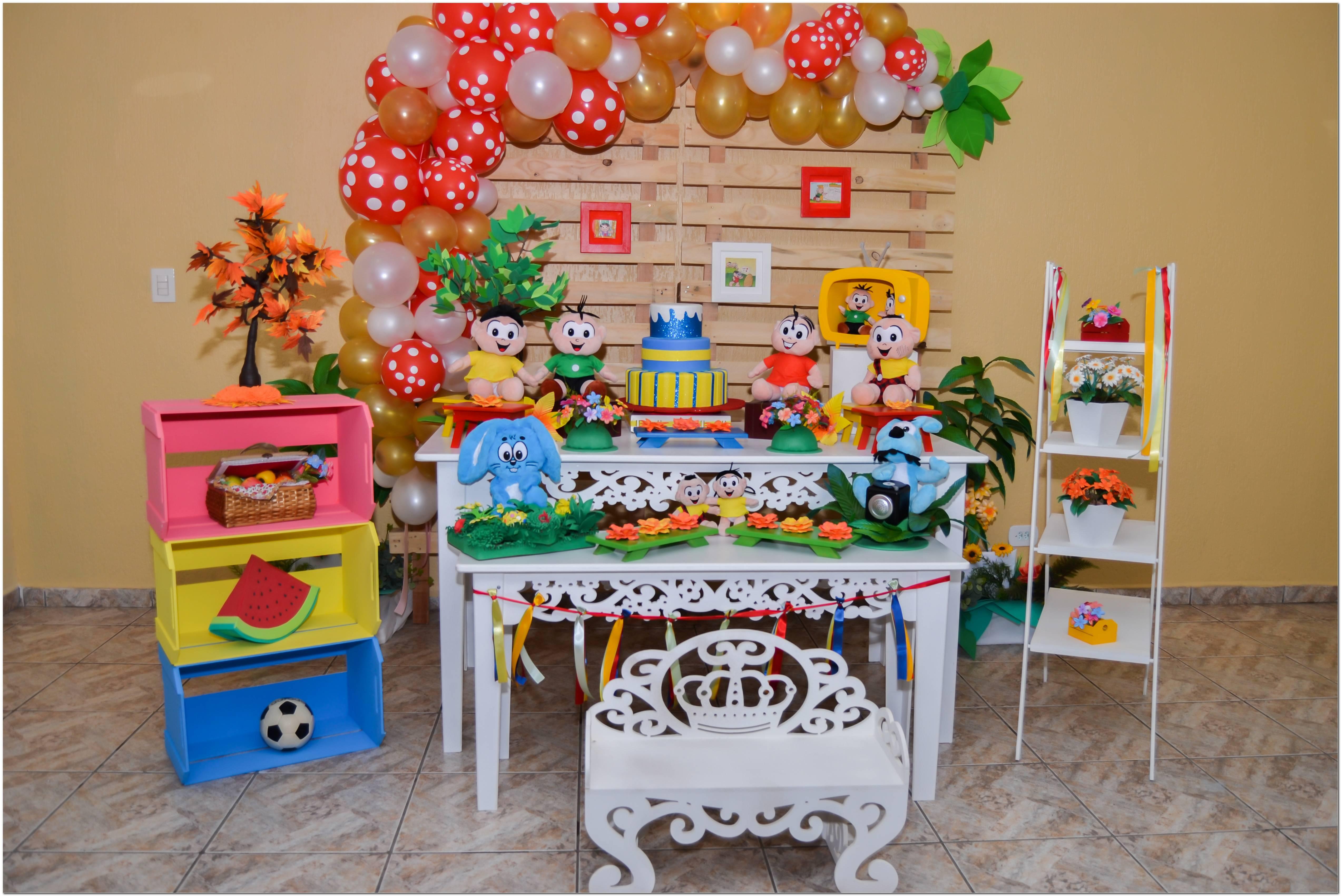 Mesa Para Decoração De Festa Infantil