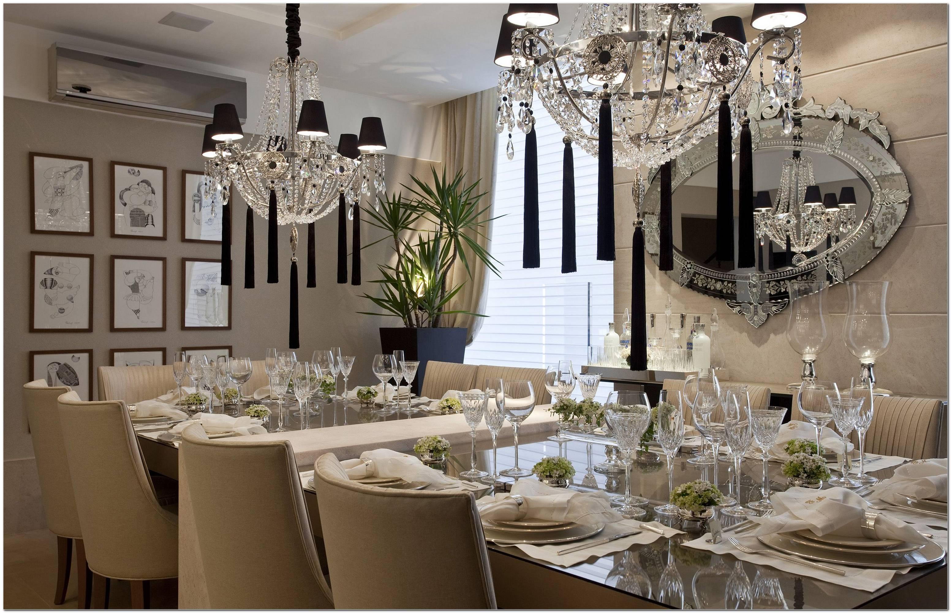 Mesa Para Sala De Jantar De Luxo
