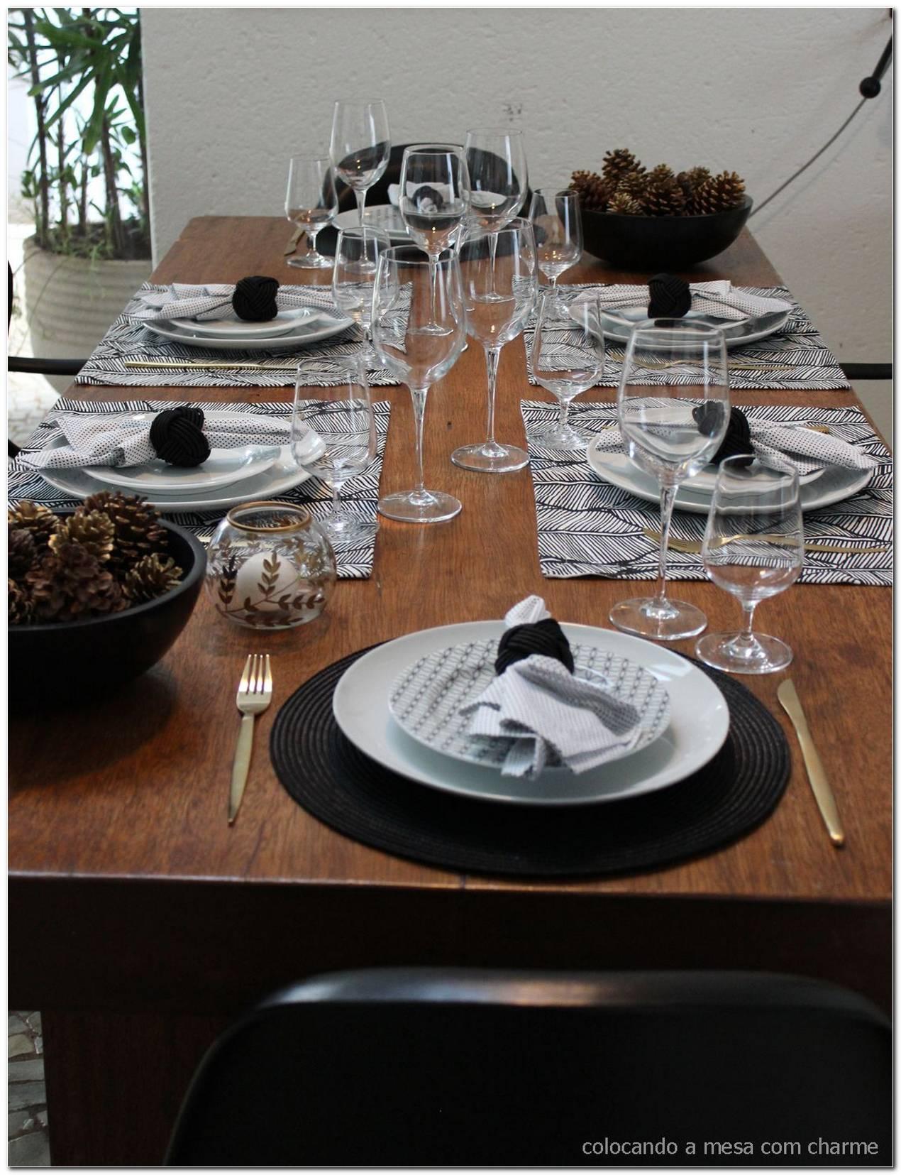 Mesa Posta Dicas E 57 Modelos Para Café Almoço E Jantar