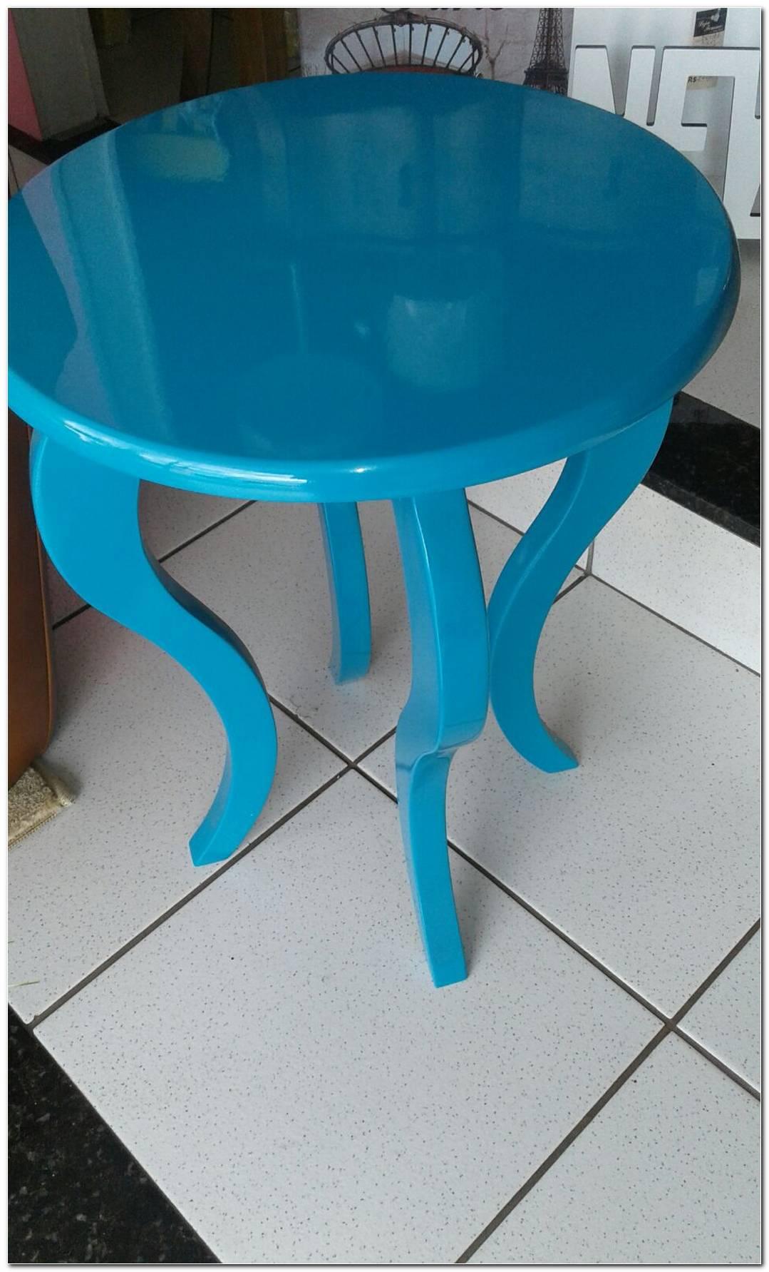 Mesas De Laca Azul