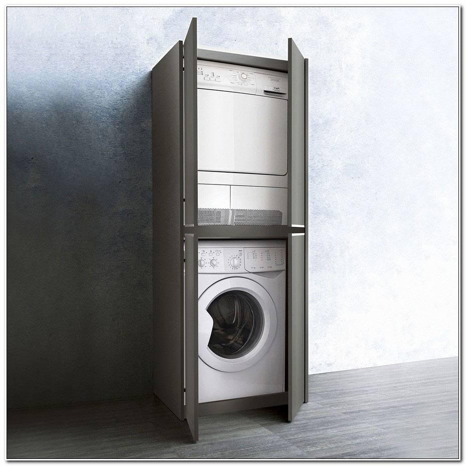 Meuble Machine A Laver Seche Linge