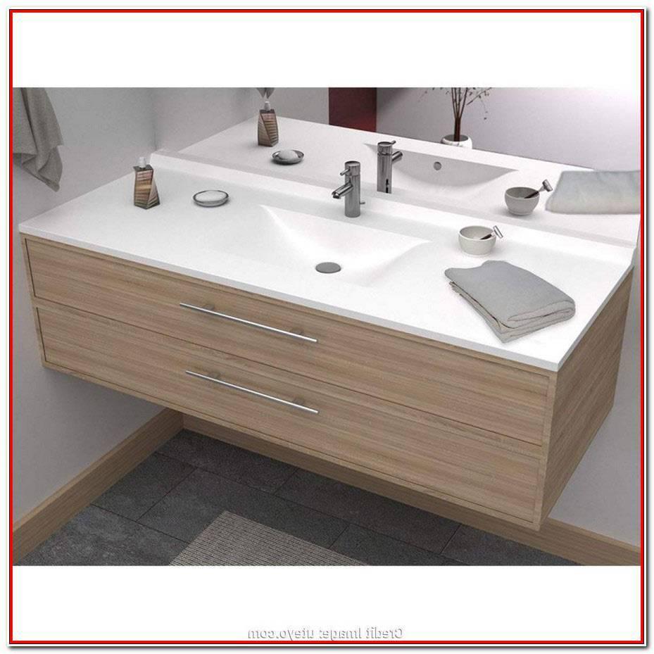 Meuble Salle De Bain 140 Cm Simple Vasque
