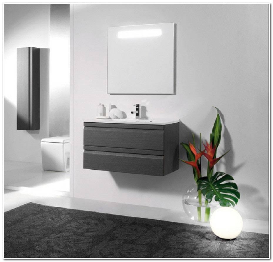 Meuble Salle De Bain 80 Cm Avec Miroir