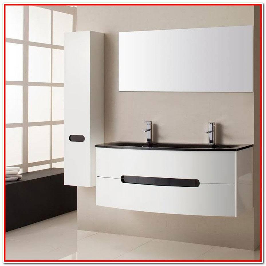 Meuble Salle De Bain Design Blanc
