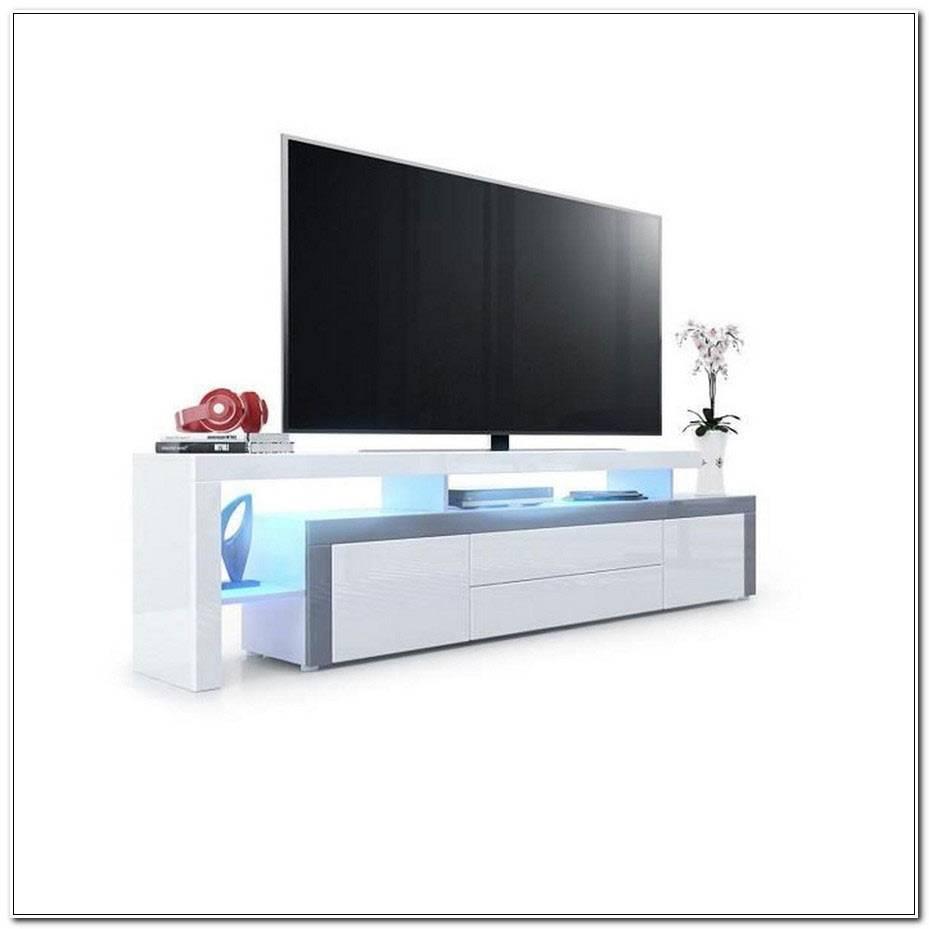Meuble Tv Blanc Et Gris