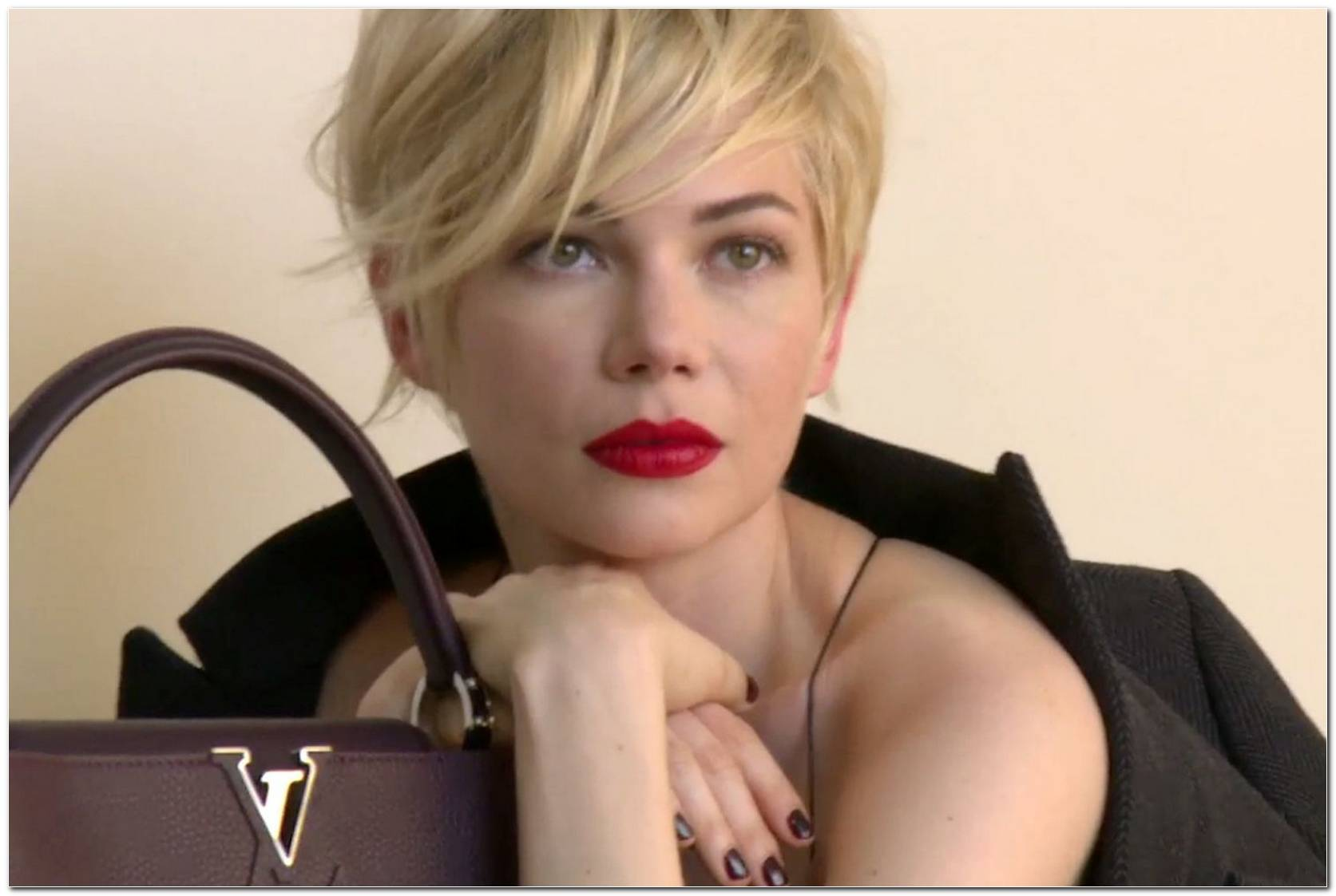 Michelle Williams Louis Vuitton Frisur