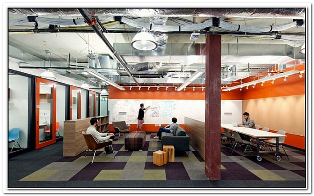 Microsoft Offices In RedmondFuture Vision Merges The Casual & The Corporate