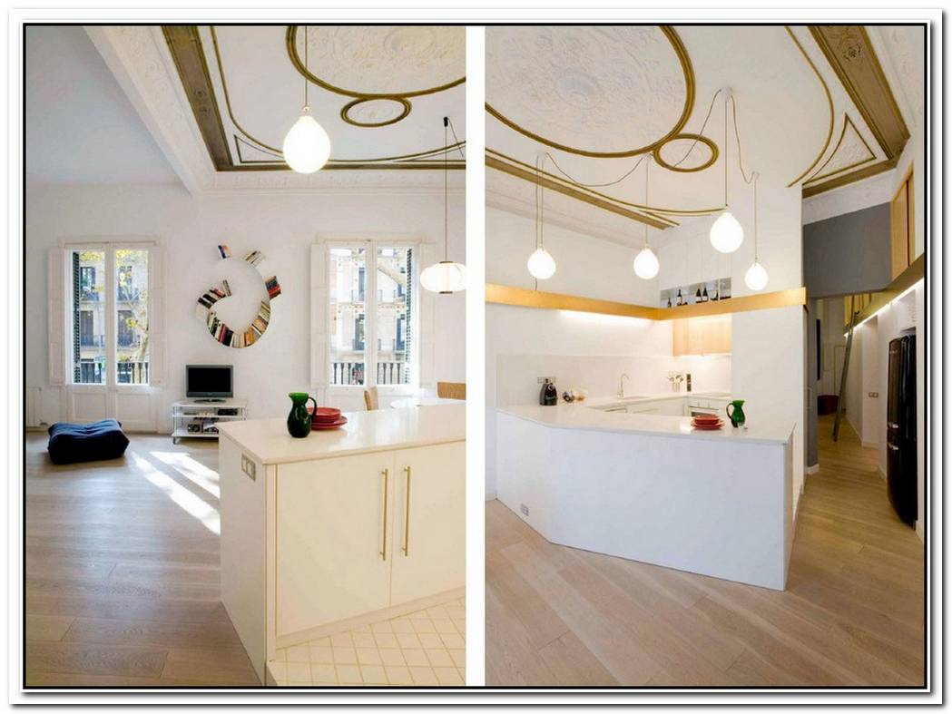 Miel Arquitectos Barcelona Apartment Makeover