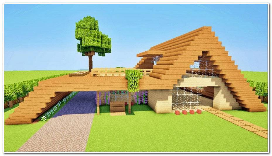 Minecraft Comment Faire Une Maison