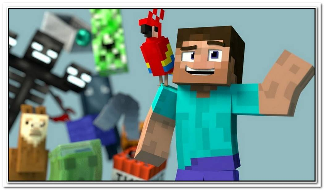 Minecraft Videos Made With This Free Minecraft Blender Rig