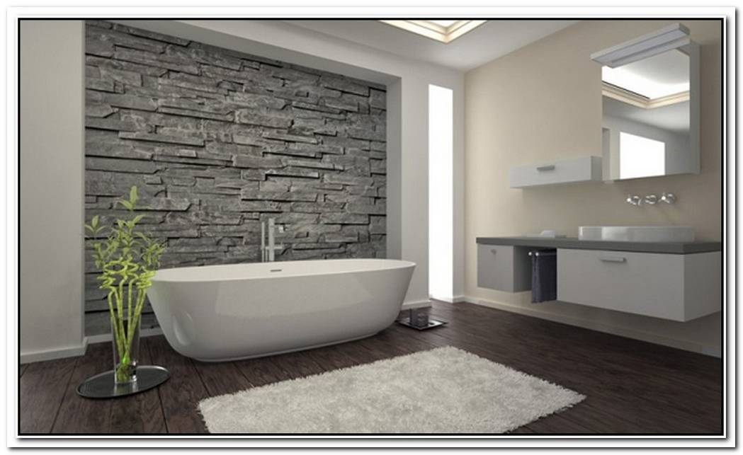 Minimalist Bathroom Stone