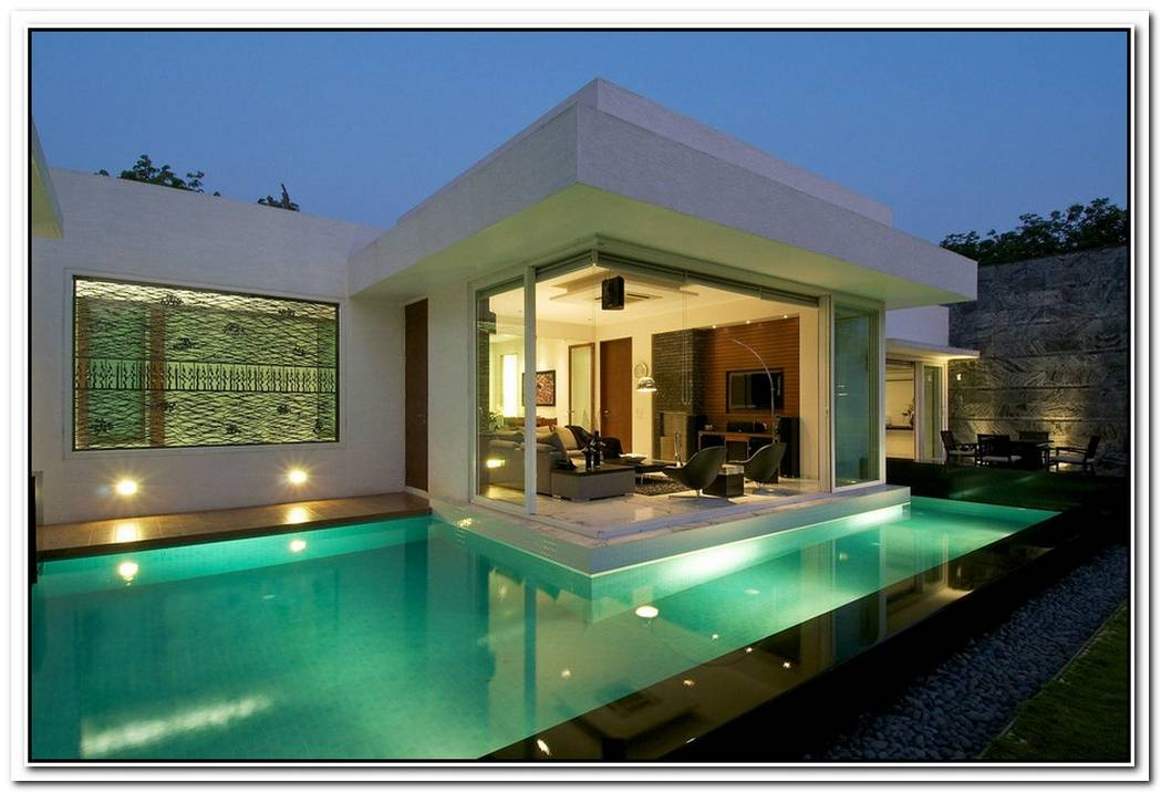 Minimalist Dinesh Mills Bungalow With Clean Lines By Atelier Dnd