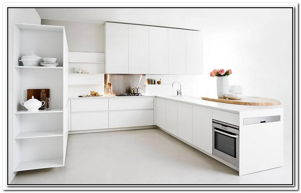 Minimalist Kitchen Offers SpaceSaving Solutions For The Small Urban Home