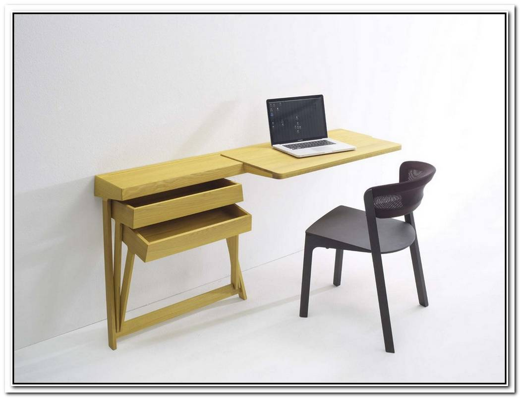 Minimalist Pivot Desk And Vanity By Shay Alkalay