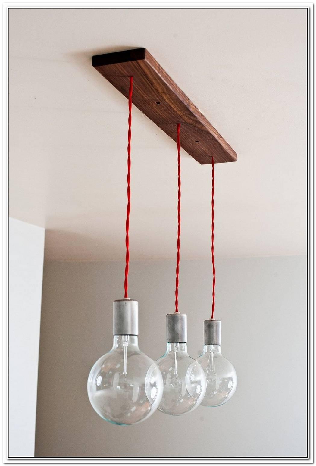 Minimalist Triple Hanging Pendants