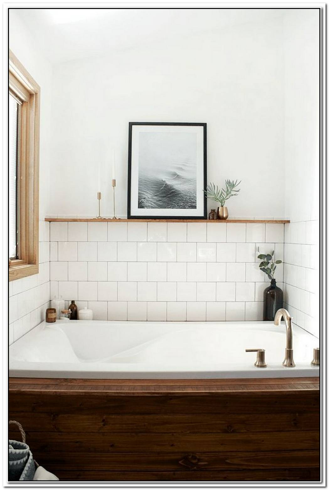 Minimalist Vintage Bathroom Bathroom Tiles