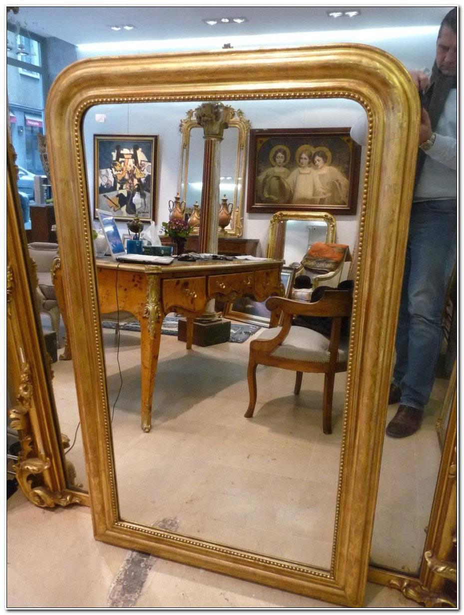 Miroir Chemine Louis Philippe