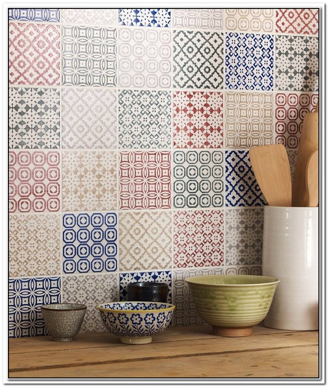 Mix And Match Patterned Tiles For A Unique D%C3%A9cor
