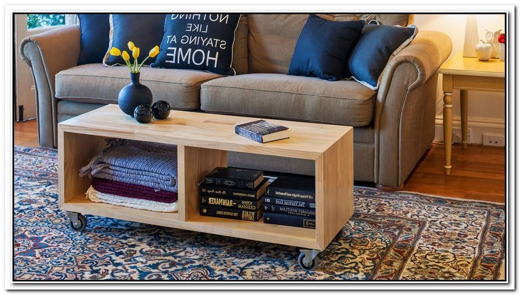 Mobile Coffee Table