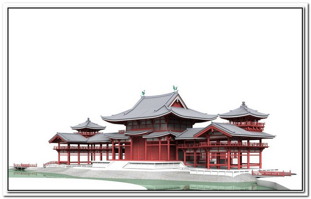 Modeling A Japanese Buddhist Temple