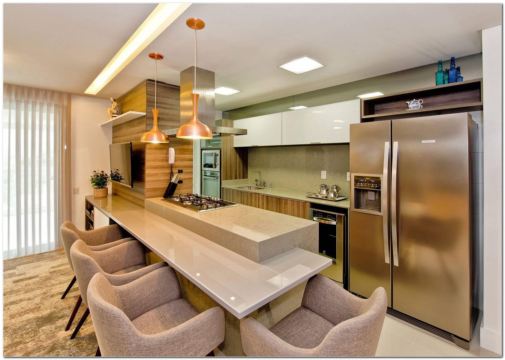 Modelo De Bancada De Cozinha