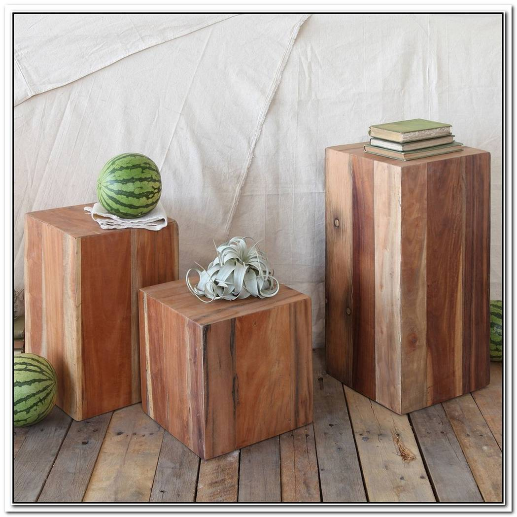 Modern And Unique Log Furniture