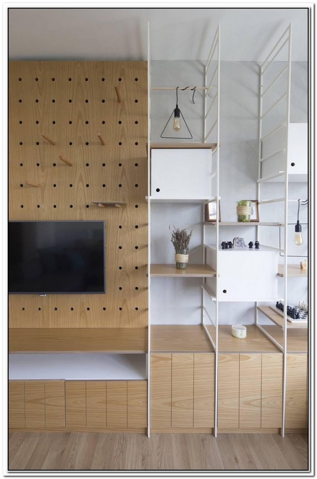 Modern Apartment Design Focused On Flexibility And Modularity