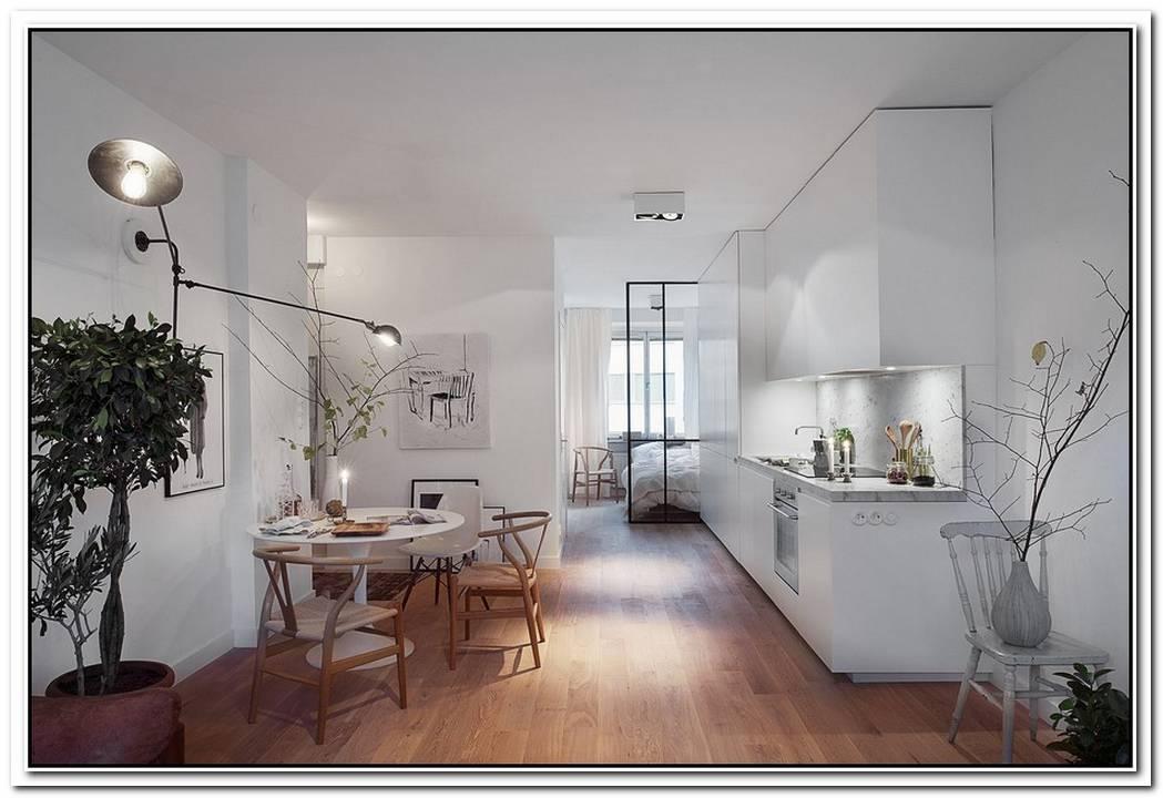Modern Apartment Featuring A Swedish Decor