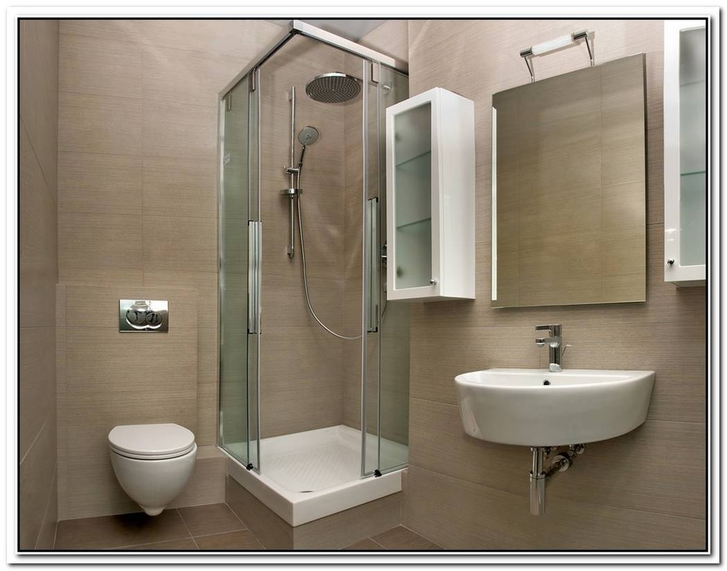 Modern Bathroom Small Space Minimalist