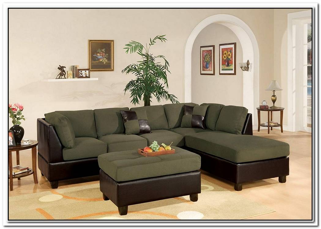 Modern Bobkona Hungtinton Sectional Sofa