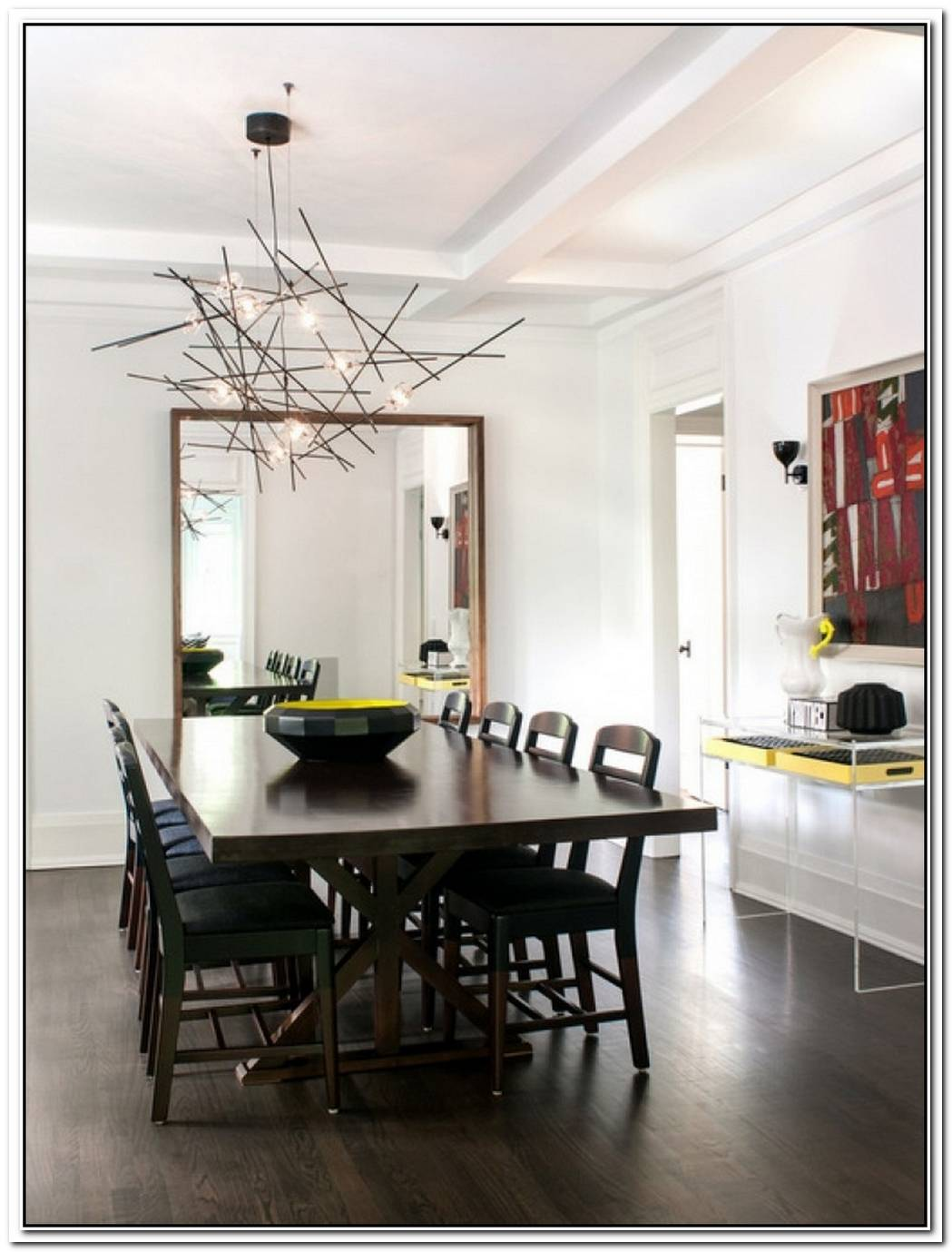 Modern Chadeliers For The Dining Room