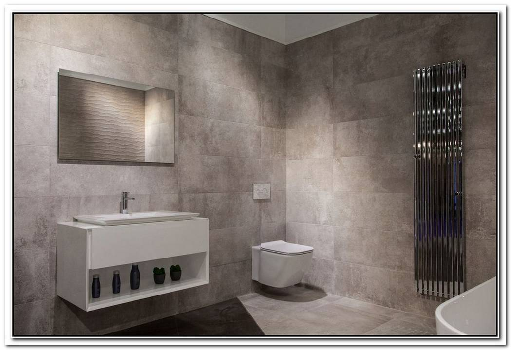 Modern Comfort Room Bathroom Modern Tiled