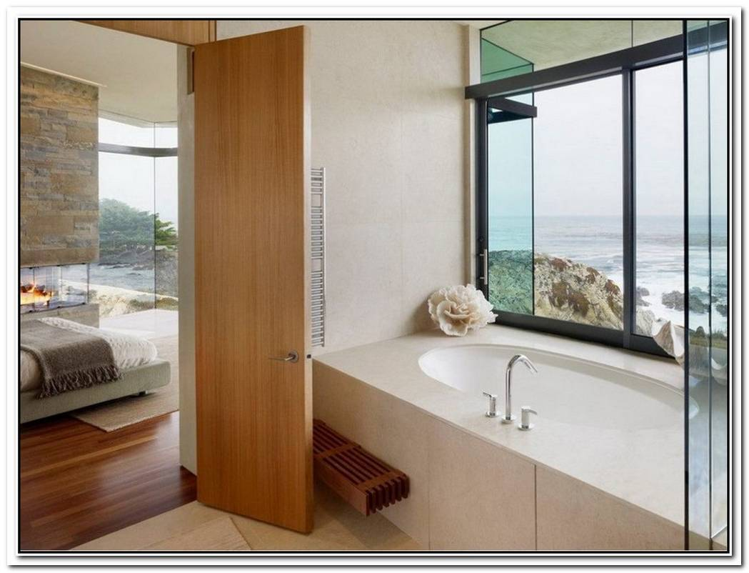 Modern Flat Bathroom Modern Door