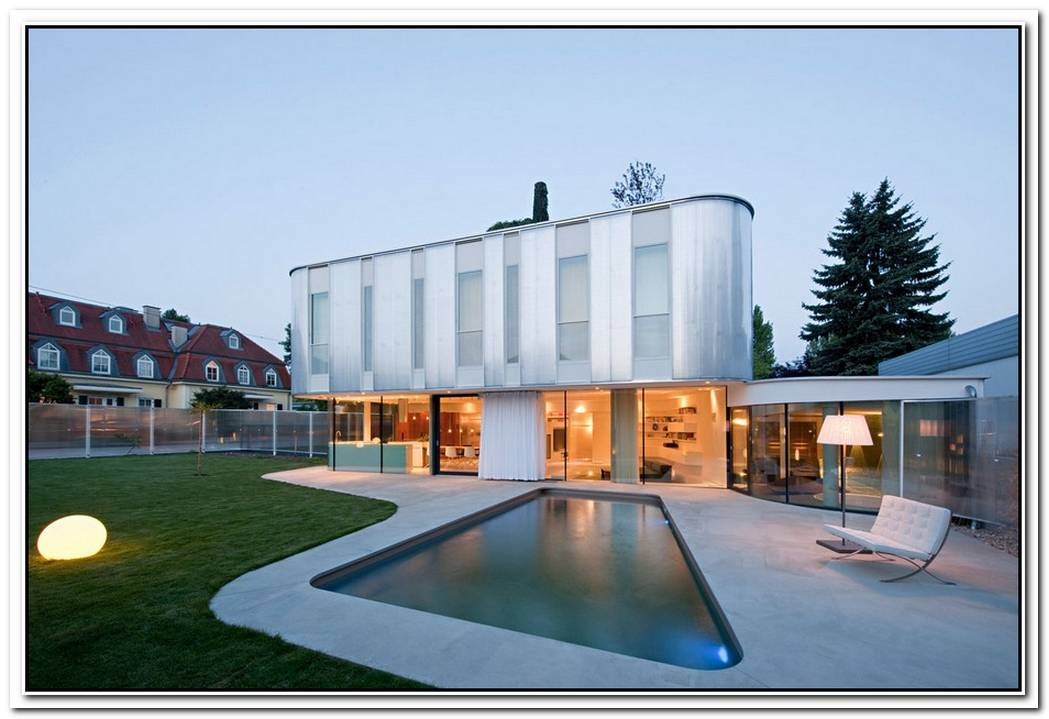 Modern House In Vienna By Caramel Architekten