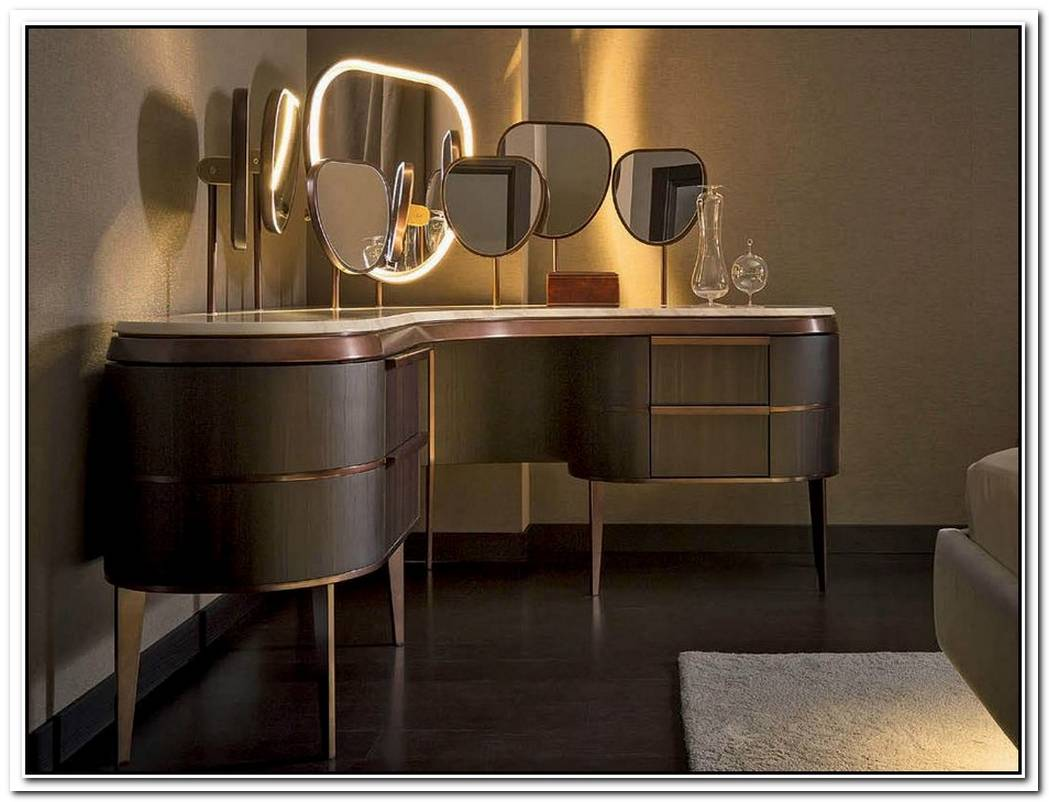 Modern Makeup Table Designs Worthy Of Attention
