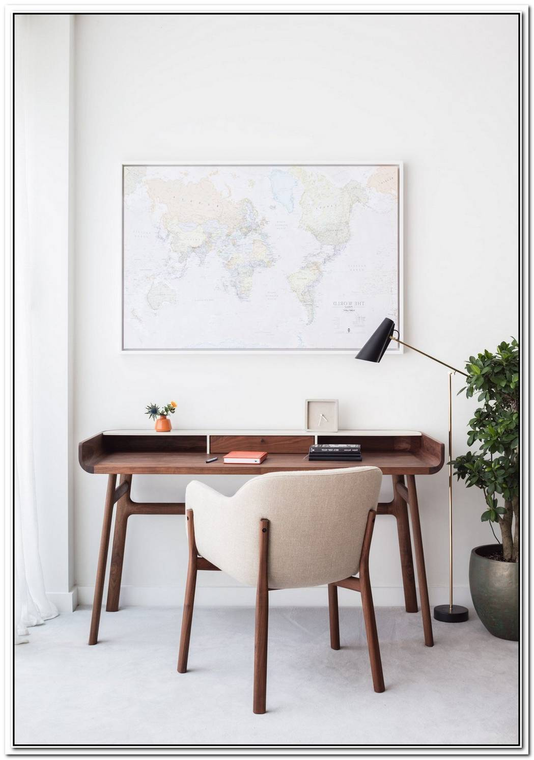 Modern Milk Table Desk