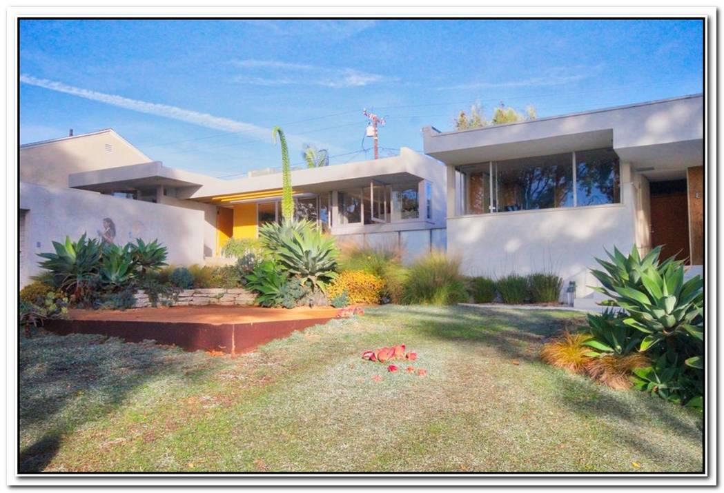 Modern Schindler House Remodel In Inglewood