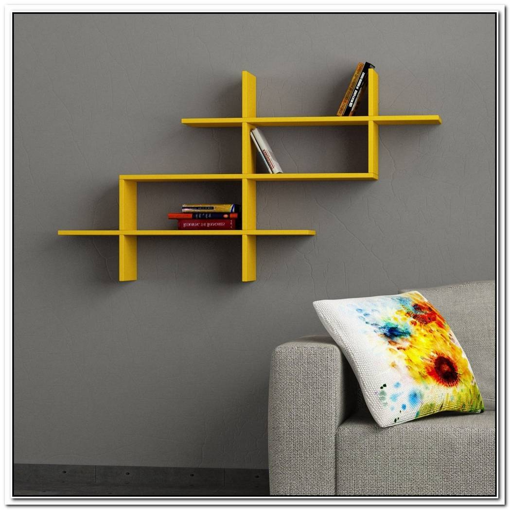 Modern Wall Shelving Unit