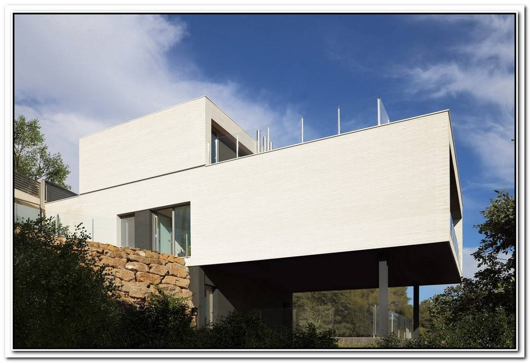 Modern Weekend Family House In Spain By M2arquitectura Scp