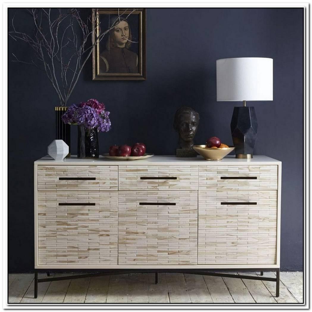Modern Wood Tiled Dresser