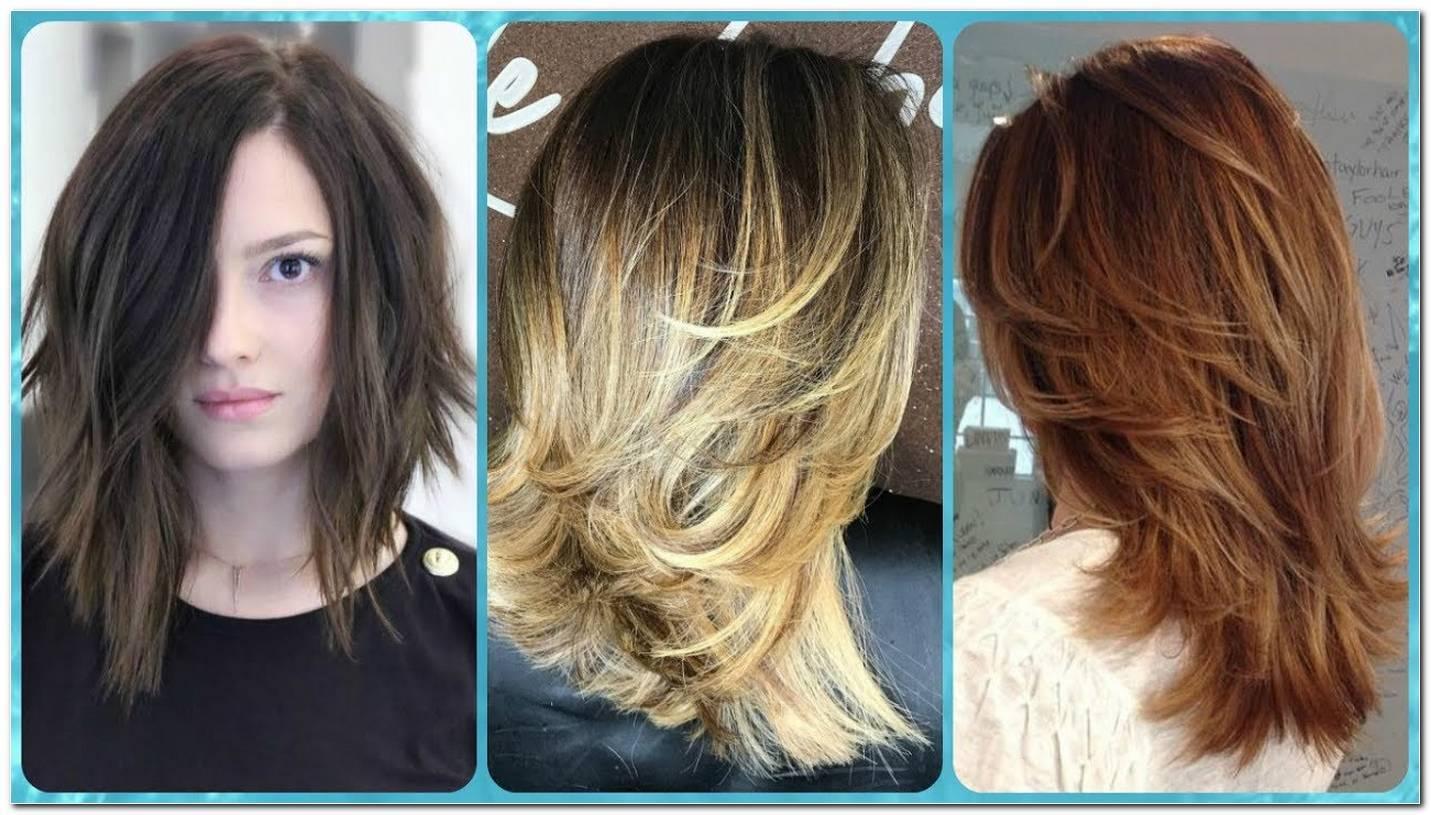 Moderne Mittellange Frisuren Damen